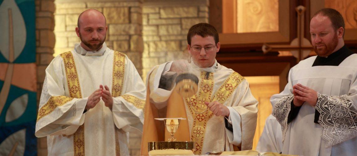 Father John's First Mass